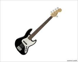Fender Standard Jazz Bass 5-String Black