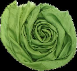 Seidentuch grün