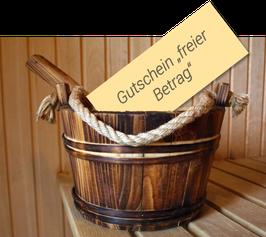 """Gutschein """"freier Betrag"""""""