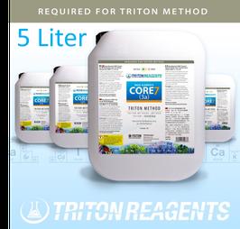 Großgebinde Triton Core 7 Base Elements zur Anwendung für die Triton Methode 4 x 5 Liter