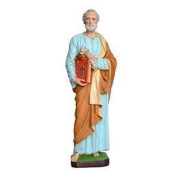 Statua San Pietro cm. 60 in resina