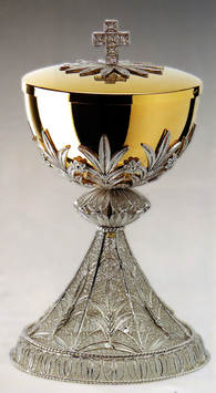 Pisside in filigrana d'argento mod. 662
