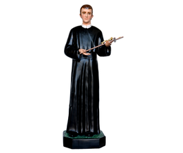 Statua San Gerardo cm. 167 in vetroresina