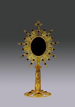 Reliquario in filigrana d'argento mod. 954