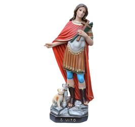 Statua San Vito cm. 60 in resina