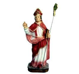 Statua San Gennaro cm. 28 in resina