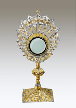 Ostensorio in filigrana d'argento mod. 929