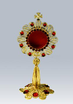 Reliquario in filigrana d'argento mod. 615