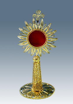 Reliquario in filigrana d'argento mod. 636