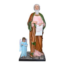 Statua San Matteo Evangelista cm. 160 in vetroresina