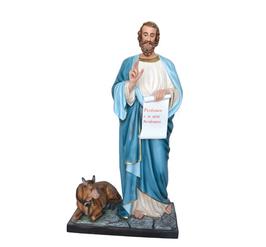 Statua San Luca Evangelista cm. 160 in vetroresina