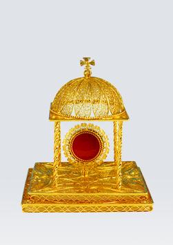 Reliquario in filigrana d'argento mod. 917