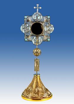Reliquario in filigrana d'argento mod. 912C