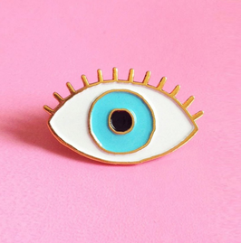 Blue Eye Pin