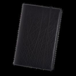 Lederhülle aus schwarzem Naturleder für Moleskine® Large
