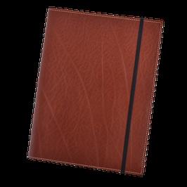 Lederhülle für Moleskine® Extra Large in klassischem Braun