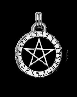 Pentakel der Hellsicht │ 925 Silber