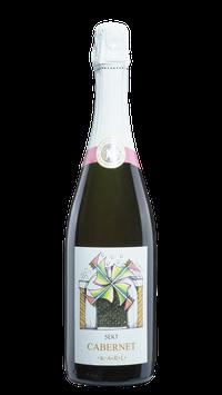 Sekt Cabernet Sauvignon  Rosé  Jahrgangssekt Ernte 2019
