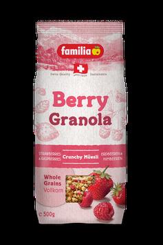 Berry Granola Knusper Müesli MHD 04.10.2021
