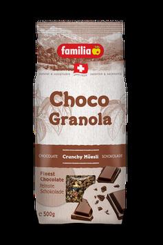 Choco Granola Knusper Müesli MHD 04.10.2021