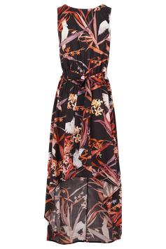 Kleid Elfenspiegel, bedruckte Bio-Baumwolle