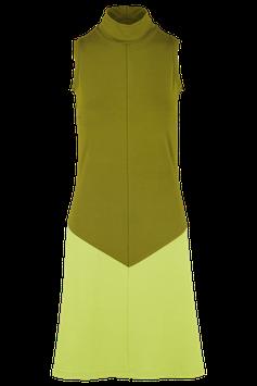 Kleid Philia, olivegrün-lemongrün