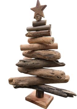 Kunsthandwerklich gefertigter Treibholz Baum.