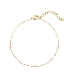 YG-02006 Goudkleurig trendy en stijlvol handgemaakte kleuren kralen armband Fab Beads