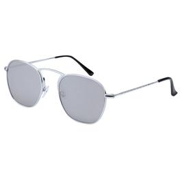 Trendy zilveren watch my shades zonnebril met zilveren glazen