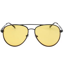 Trendy time to chill zonnebril met gele glazen