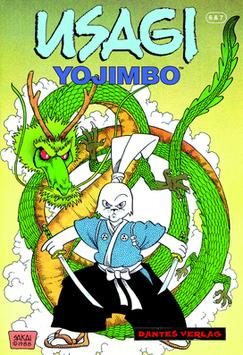 Usagi Yojimbo 6+7 - Die Drachenschrei-Verschwörung (Schwarzer Turm Edition)