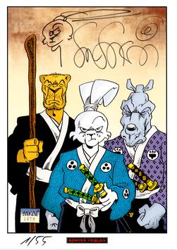Usagi Yojimbo Print 2
