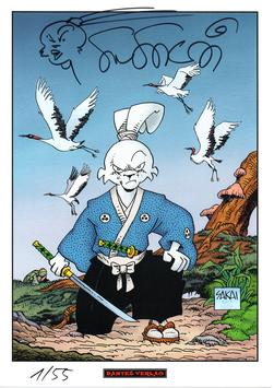Usagi Yojimbo Print 1