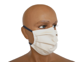 Mund- und Nasenmaske aus Baumwolle