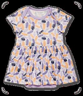 Babykleid mit Bodyeinsatz