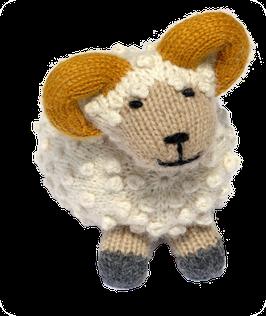 Schafbock Memo aus hochwertiger Alpaka Wollmischung