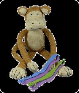 Gonzalo der Affe aus Tangüis Bio-Baumwolle