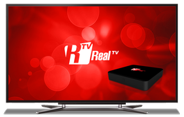 REAL TV-X96 IPTV - Service de contenu 12 mois
