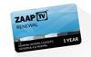 12 Monate ZaapTV ™  Greek Paket Verlängerungskarte