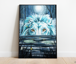 Lion d'eau douce