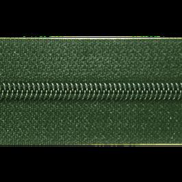 Endlosreißverschluss oliv