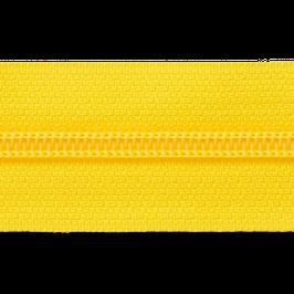 Endlosreißverschluss gelb