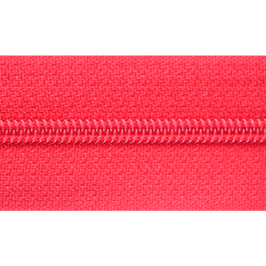 Endlosreißverschluss rot