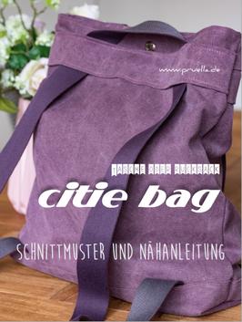 Prülla, Citie Bag Papierschnittmuster