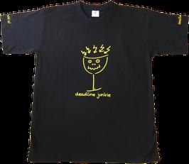 """allerhand - t-shirt """"deadline junkie"""""""
