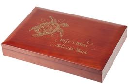 Fiji Taku Schildkröte Turtle Münzbox für 1 bzw. 5 Oz Silbermünzen