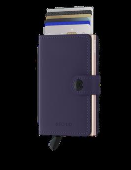 Secrid Miniwallet - Matte Purple