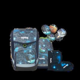 Ergobag Cubo - Bär Anhalter Durch die Galaxis SUPER REFLEX GLOW - Edition