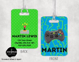 Gamer Backpack/Luggage ID Tag