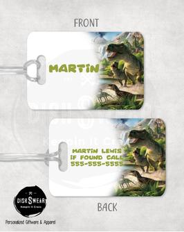 Dinosaur Backpack/Luggage ID Tag